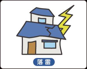 火災保険(落雷)