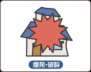火災保険(爆発・破裂)
