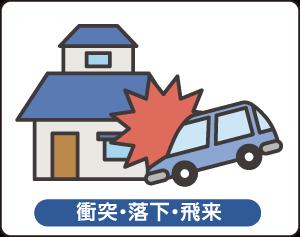 火災保険(衝突・落下・飛来)